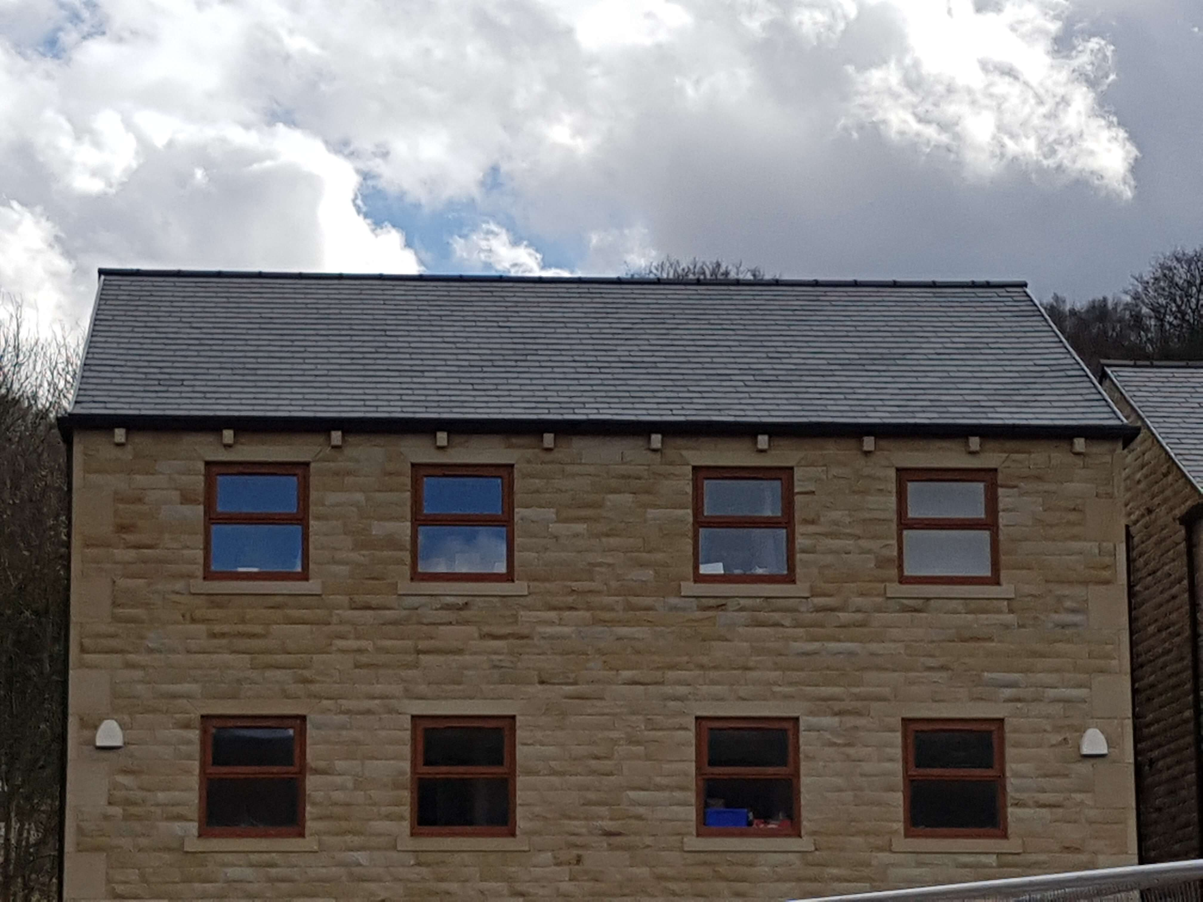 finished roof in Todmorden
