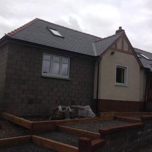 Calidad slate on the roof alternative angle