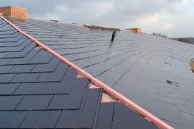 JRC's easi slate on the roof