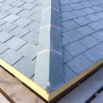 JRC's Portarana slate ridge tiles on the roof