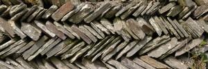Slate dry wall