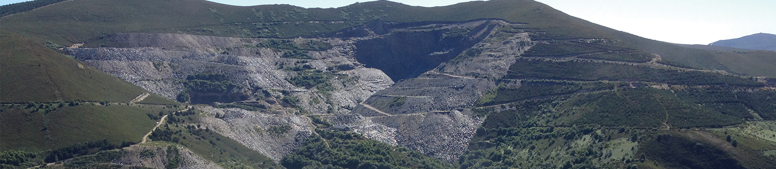 Spanish slate quarry