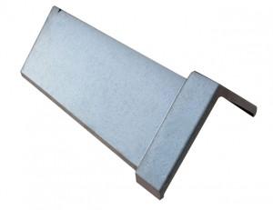 Black capped angle ridge tile