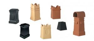 Square chimney pots
