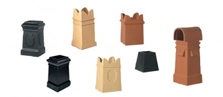Square chimney pots