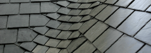 Spanish slate design on the roof